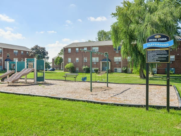 Playground at Hyde Park Apartment Homes