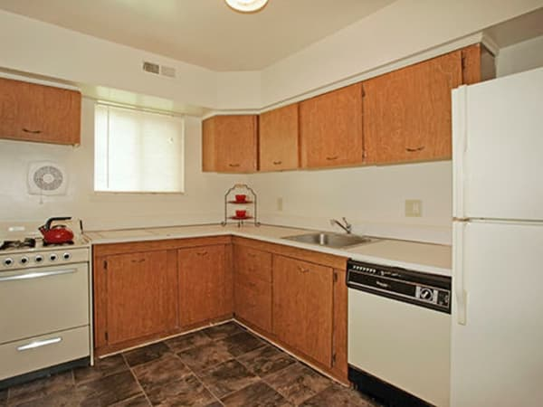 Our apartments in Glen Burnie, Maryland showcase a modern kitchen