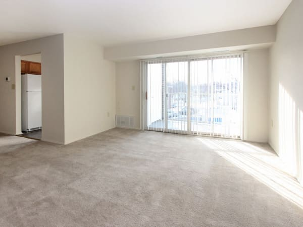 Our apartments in Glen Burnie, Maryland showcase a spacious living room