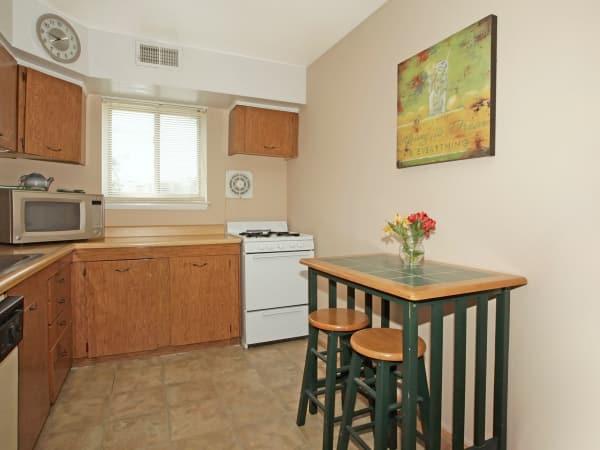 Kitchen at Glen Ridge Apartment Homes in Glen Burnie, Maryland