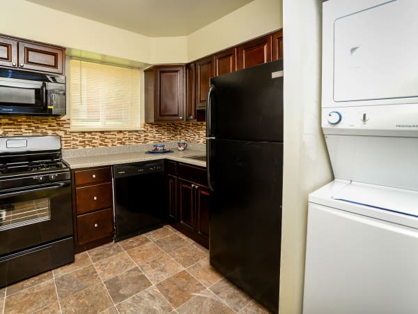 Our apartments in Glen Burnie, Maryland showcase a renovated kitchen