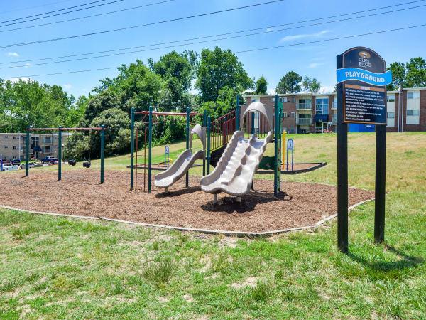 Glen Ridge Apartment Homes offers a playground in Glen Burnie, Maryland