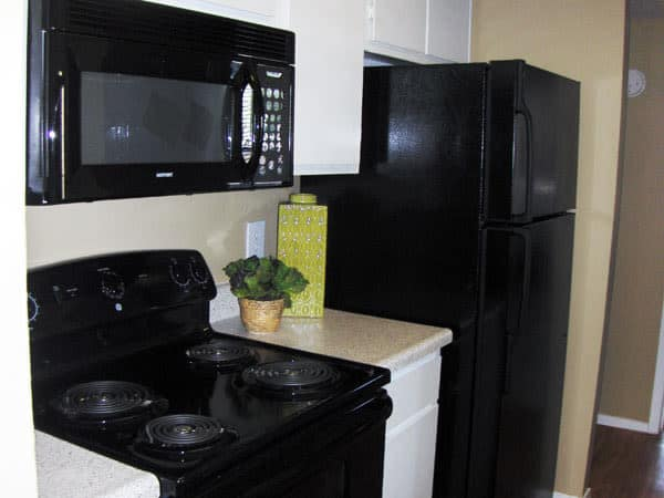 Greentree Apartments showcase a well equipped kitchen