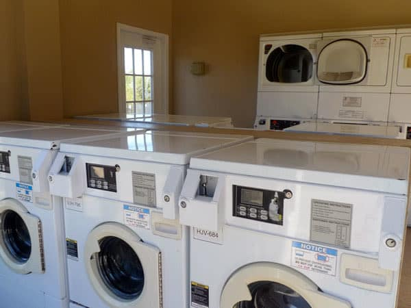 Laundry facility at Mountain Ranch in Austin