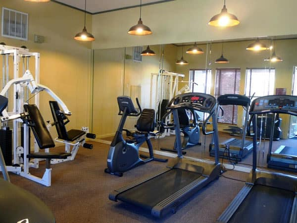 Stay healthy in our fitness center in Austin, TX