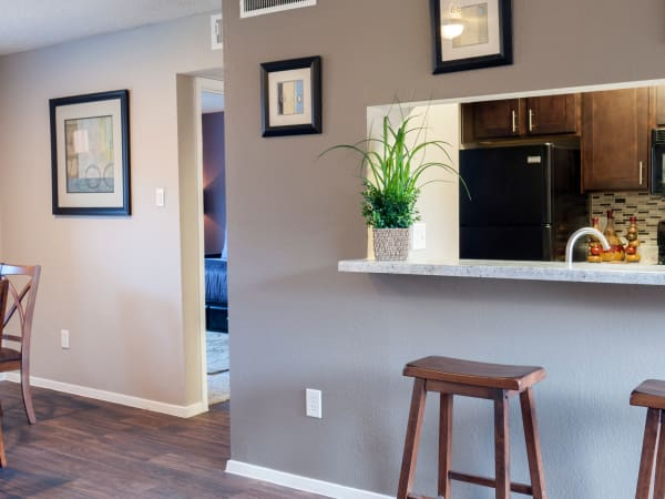 Our apartments in Carrollton, Texas offer a dining room