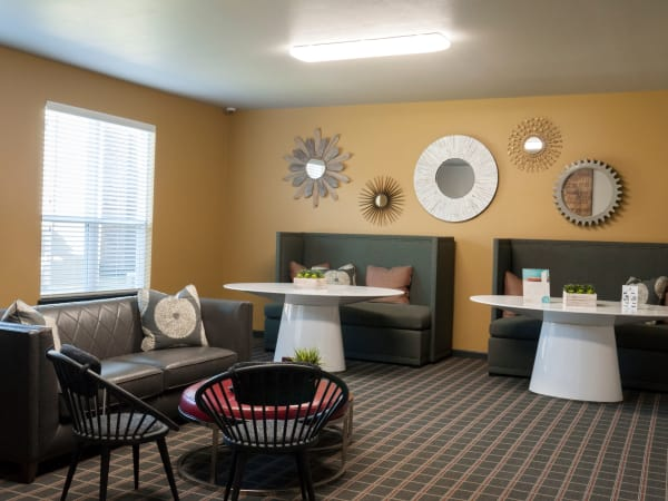 Our apartments in Carrollton, Texas showcase a luxury interior room