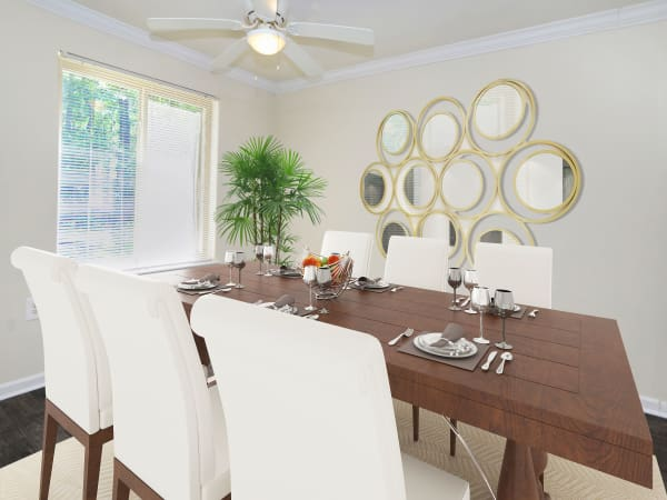 Dining Room at Quail Hollow Apartment Homes in Glen Burnie, Maryland