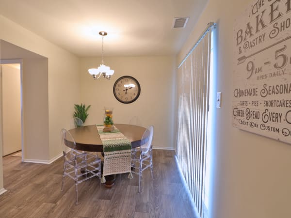 Dining Room Nook at The Townhomes at Diamond Ridge in Baltimore, Maryland