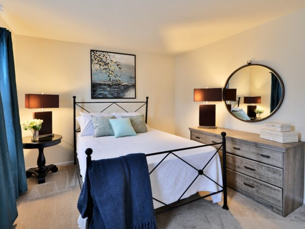 Bedroom at The Townhomes at Diamond Ridge in Baltimore, MD