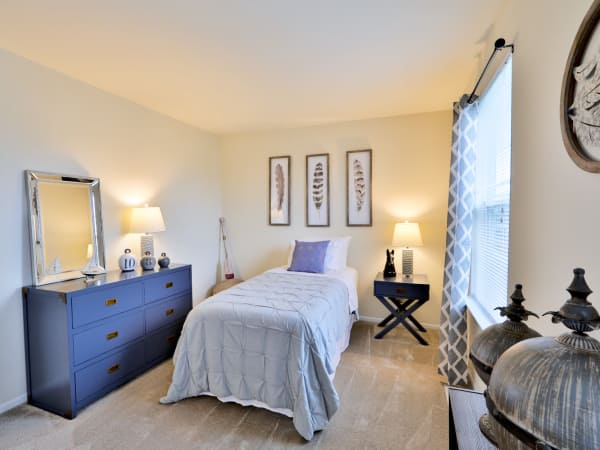 Bedroom at The Townhomes at Diamond Ridge in Baltimore, Maryland