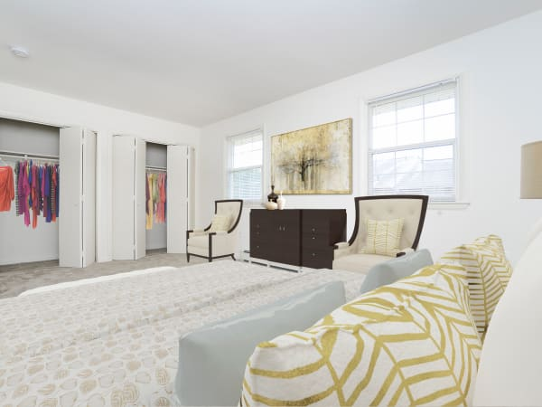 Luxury Bedroom at Vineland Village Apartment Homes in Vineland, New Jersey