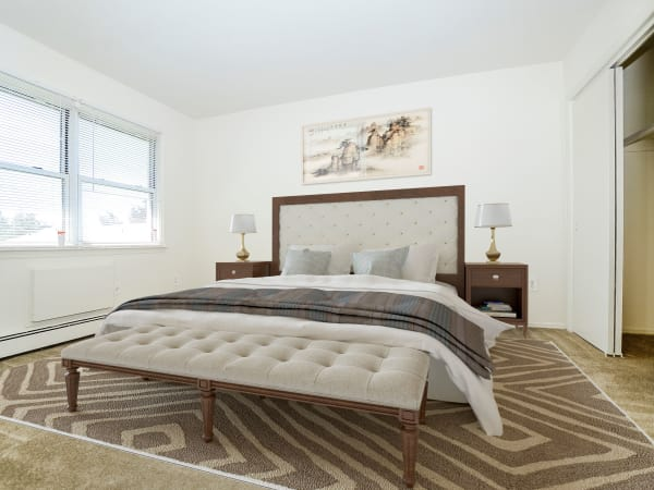 Bedroom at Rolling Gardens Apartment Homes   Apartments in Mahwah, New Jersey