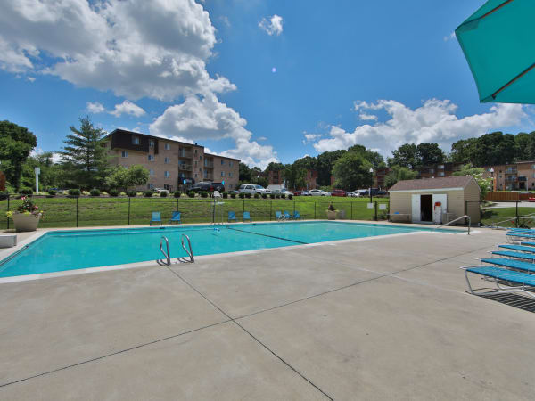 Swimming Pool at The Willows Apartment Homes in Glen Burnie, Maryland