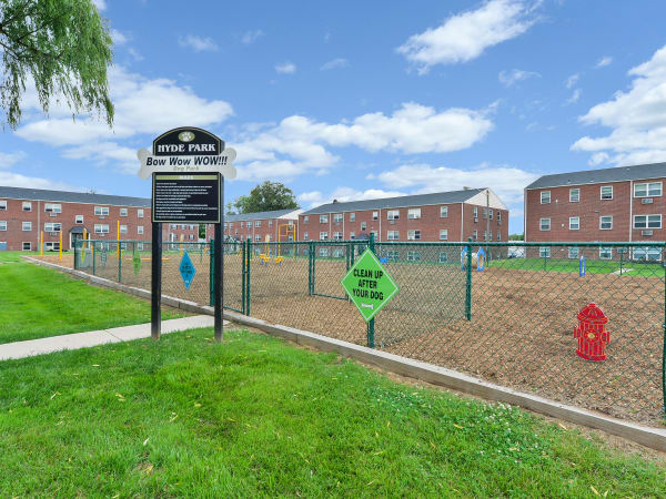 Dog Park at Hyde Park Apartment Homes in Bellmawr, New Jersey