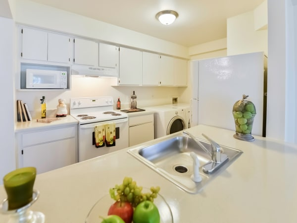 Kitchen at Apartments in Absecon, New Jersey