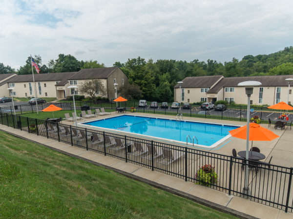Enjoy Apartments with a Swimming Pool at Squires Manor Apartment Homes