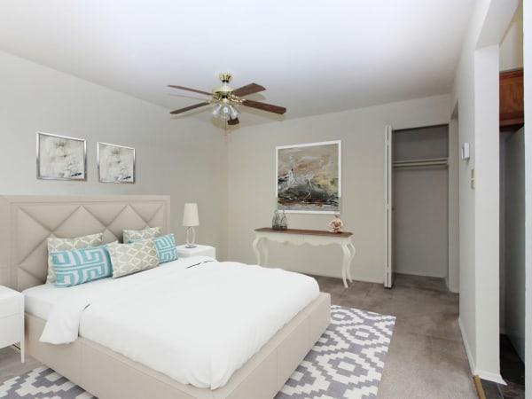 Beautiful Bedroom at Glen Mar Apartment Homes in Glen Burnie, Maryland