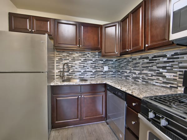 Kitchen at The Preserve at Owings Crossing Apartment Homes in Reisterstown, Maryland