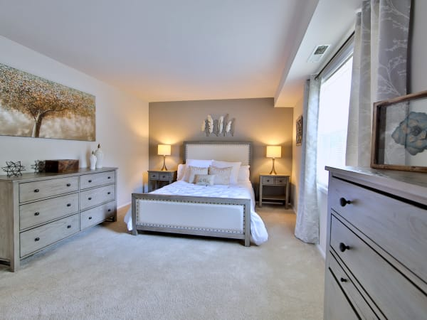 Spacious Bedroom at The Preserve at Owings Crossing Apartment Homes in Reisterstown, Maryland