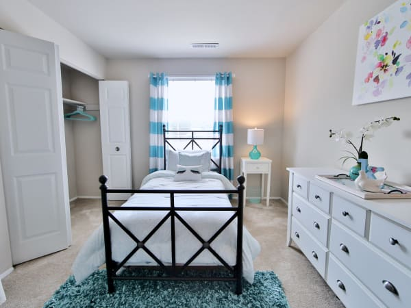 Bedroom at Apartments in Reisterstown, Maryland