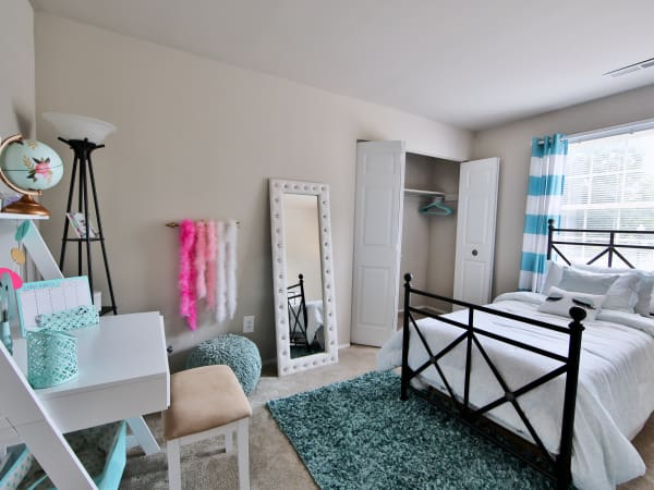 Bedroom at The Preserve at Owings Crossing Apartment Homes in Reisterstown, Maryland