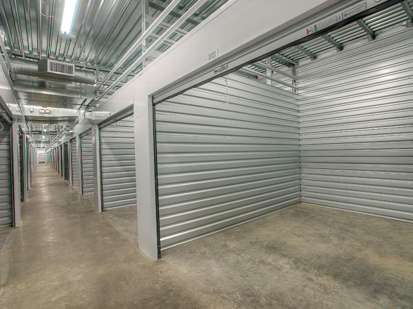 Hallway of units at StorQuest Self Storage in Thornwood, New York