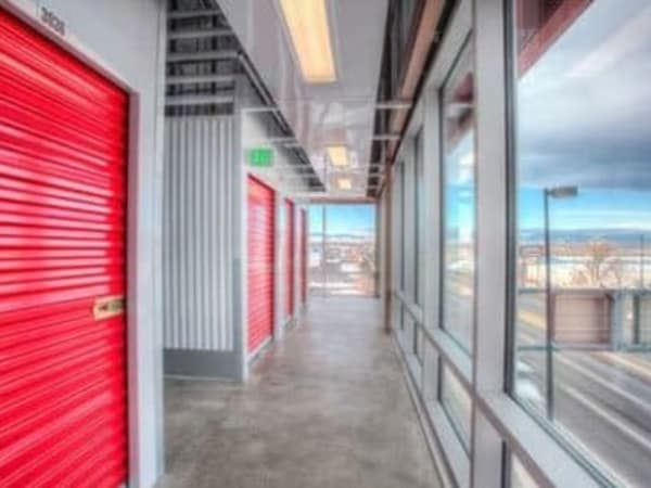 Second level storage at StorQuest Self Storage in Escondido, California