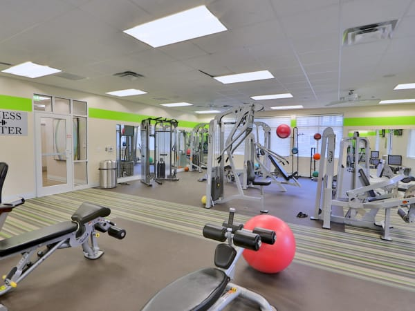 The Townhomes at Diamond Ridge in Baltimore, MD offers apartments with a gym