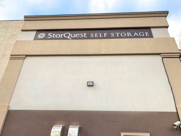 Exterior photo of StorQuest Self Storage in Thornwood, New York