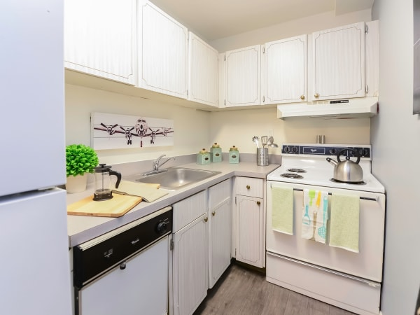 Kitchen at Main Street Apartment Homes in Lansdale, Pennsylvania