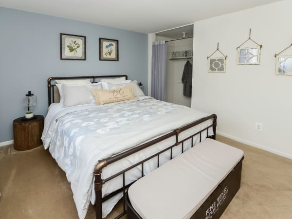 Bedroom at Apartments in Lansdale, Pennsylvania