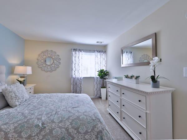 Bedroom at Cedar Creek Apartment Homes in Glen Burnie, Maryland