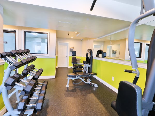 Enjoy Apartments with a Gym at Cedar Creek Apartment Homes