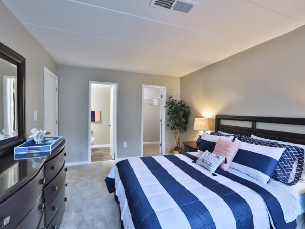 Spacious Bedroom at The Reserve at Greenspring in Baltimore, Maryland