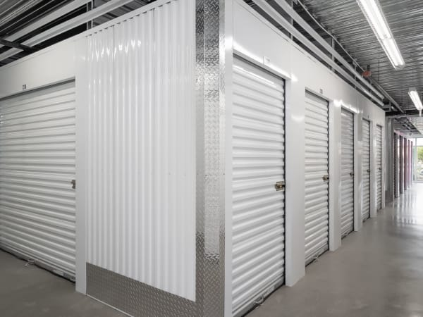 Drive-up units at StorQuest Self Storage in Modesto, California