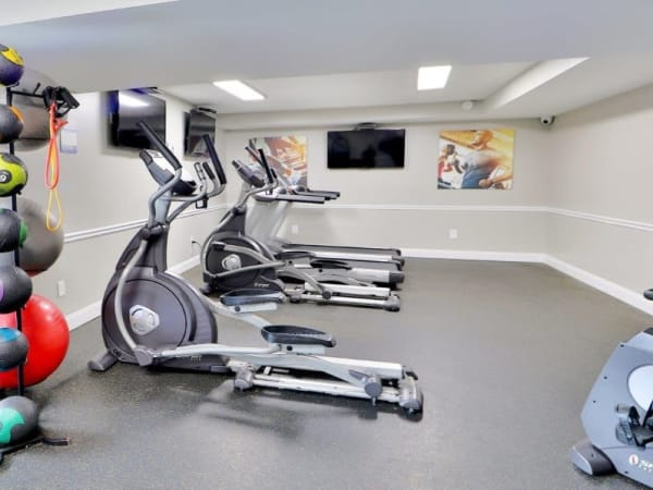 Gym at Towson Crossing Apartment Homes in Baltimore, MD