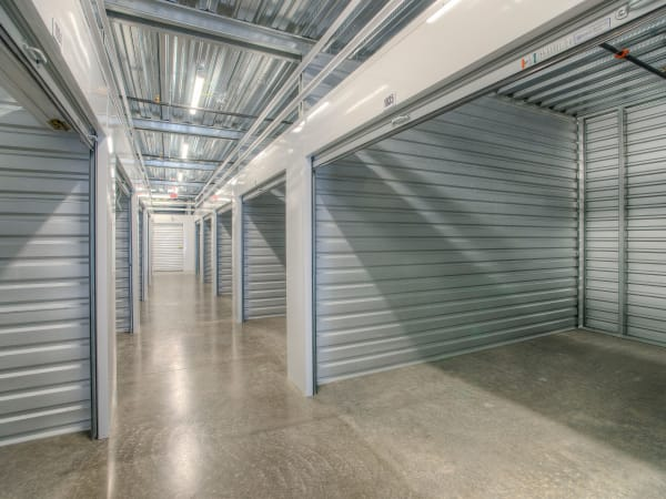 Hallway of units at StorQuest Self Storage in Thornwood, New York