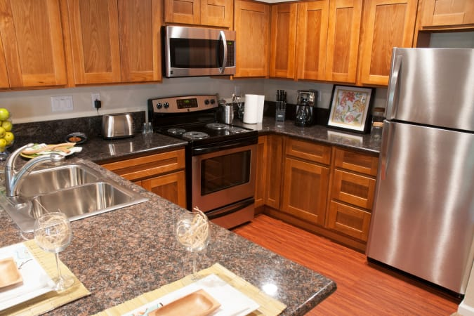 Spacious apartments at Carmel Woods in Modesto, CA