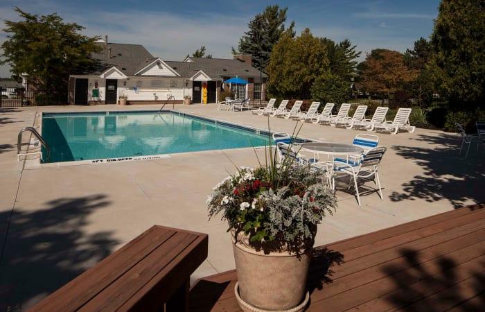 Community pool at Northridge