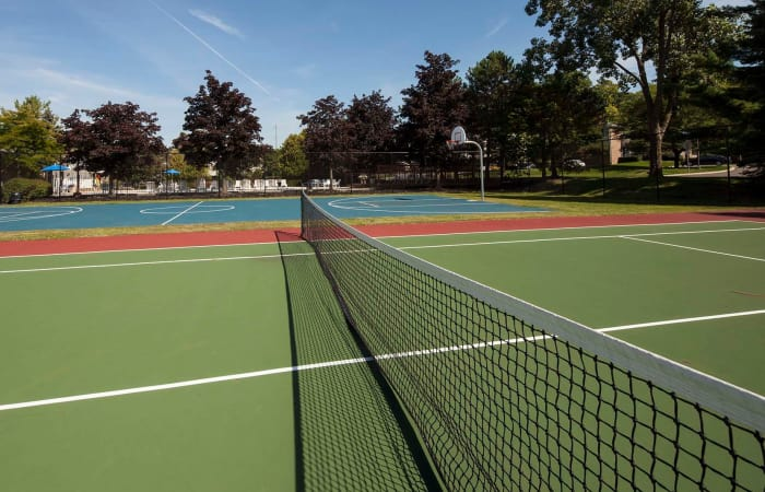 Tennis court at Northridge