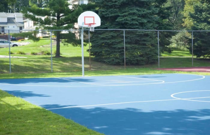 Basketball court at Northridge