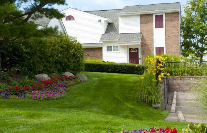 Grassy lawn at Northridge