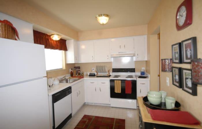 Kitchen at Northridge in Rochester Hills