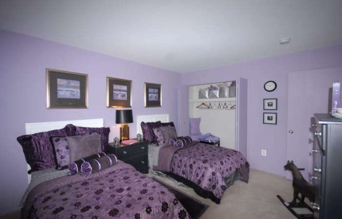 Bedroom at Northridge in Rochester Hills
