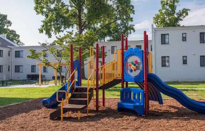 Onsite playground at The Residences at Silver Hill in Suitland, MD