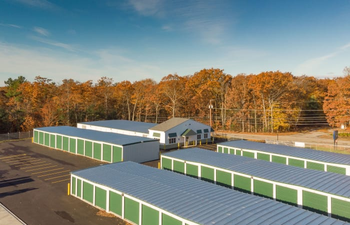 Safe Storage in Sanford, Maine, is a fully fenced facility