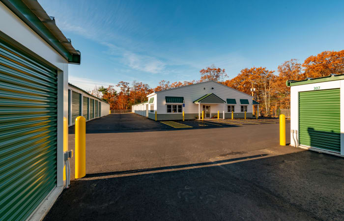 Ground-level units available at Safe Storage in Sanford, Maine