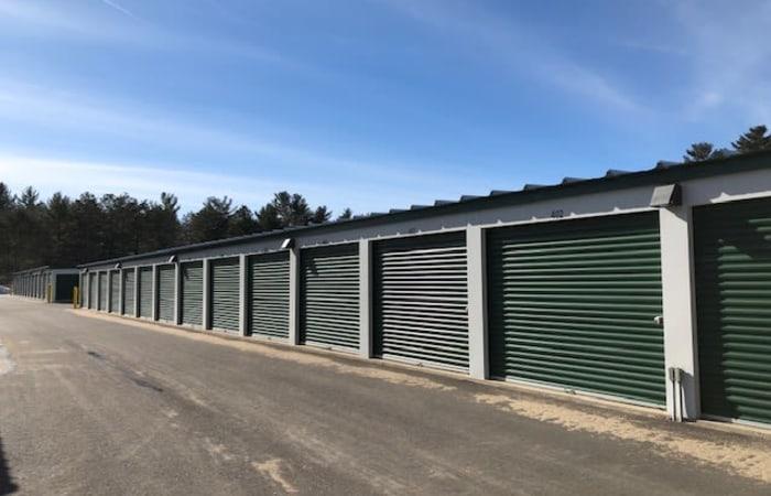 Safe Storage in Hollis, Maine, exterior storage units