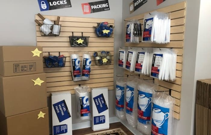 Moving and packing supplies are available at Safe Storage in Hollis, Maine